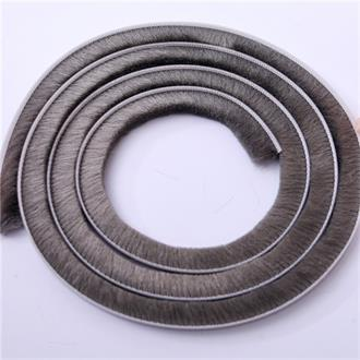 Silicone & UV plastic pile weather strip